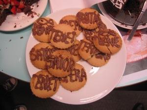 Wordsquare biscuits