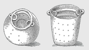 Vessel for raising doormice